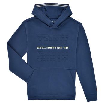 material Boy sweaters Teddy Smith S-RUN HOODY Marine