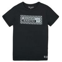 material Boy short-sleeved t-shirts Teddy Smith T-VANY Black