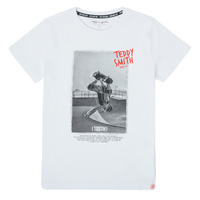 material Boy short-sleeved t-shirts Teddy Smith T-CRAIG White