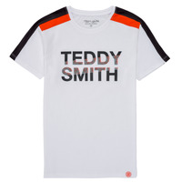 material Boy short-sleeved t-shirts Teddy Smith T-MACK White