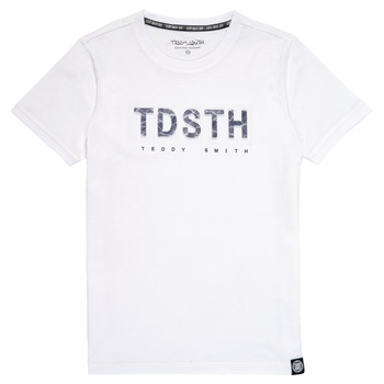 material Boy short-sleeved t-shirts Teddy Smith T-MAX White