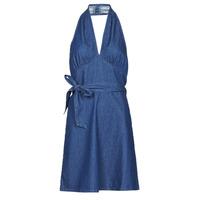 material Women Short Dresses Molly Bracken EL902P21 Blue