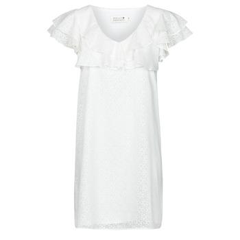 material Women Short Dresses Molly Bracken LA700E21 White