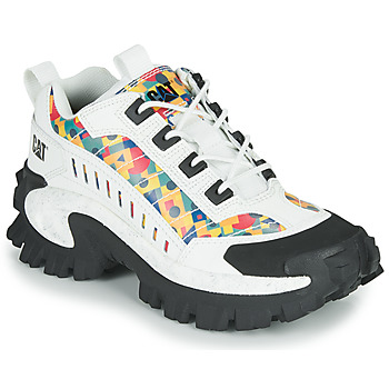 Shoes Mid boots Caterpillar INTRUDER White / Multicolour