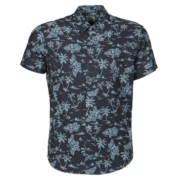 material Men short-sleeved shirts Oxbow N1CILMA Blue