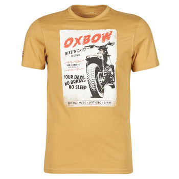 material Men short-sleeved t-shirts Oxbow N1TOBIL Brown