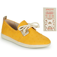 Shoes Children Low top trainers Armistice STONE ONE Yellow