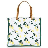 Bags Women Shopper bags Petite Mendigote CLEA LEMON White