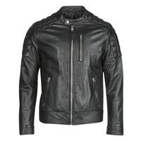 material Men Leather jackets / Imitation le Schott LCMARTIN Black