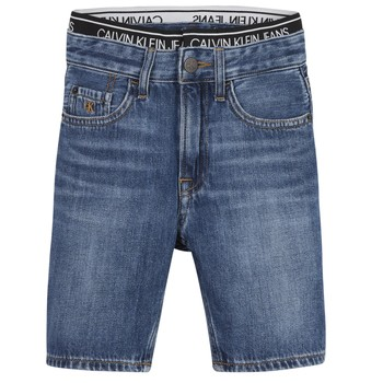 material Boy Shorts / Bermudas Calvin Klein Jeans AUTHENTIC LIGHT WEIGHT Blue
