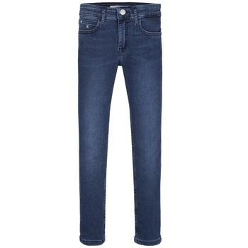 material Girl Skinny jeans Calvin Klein Jeans SKINNY ESS ROYAL BLUE Blue