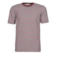 material Men short-sleeved t-shirts Scotch & Soda 160847 Red / White