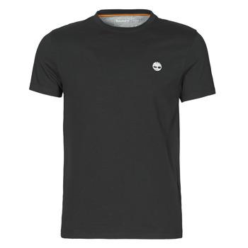 material Men short-sleeved t-shirts Timberland SS DUNSTAN RIVER POCKET TEE SLIM Black