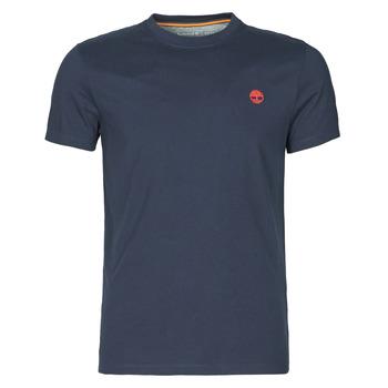 material Men short-sleeved t-shirts Timberland SS DUNSTAN RIVER POCKET TEE SLIM Marine