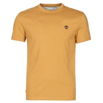 material Men short-sleeved t-shirts Timberland SS DUNSTAN RIVER POCKET TEE SLIM Beige