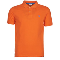 material Men short-sleeved polo shirts U.S Polo Assn. INSTITUTIONAL POLO Orange