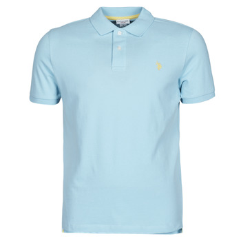 material Men short-sleeved polo shirts U.S Polo Assn. INSTITUTIONAL POLO Blue