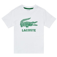 material Boy short-sleeved t-shirts Lacoste TJ1965-001 White