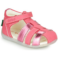 Shoes Girl Sandals Kickers BIGFLO-2 Pink
