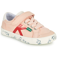 Shoes Girl Low top trainers Kickers GODY Pink