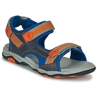Shoes Boy Sandals Kickers KIWI Blue / Orange