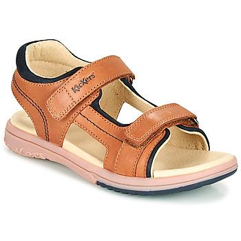 Shoes Boy Sandals Kickers PLATINO Camel