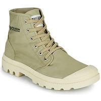 Shoes Mid boots Palladium PAMPA HI ORGANIC II Green