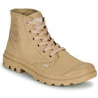 Shoes Mid boots Palladium MONO CHROME Beige