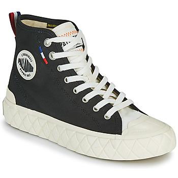 Shoes High top trainers Palladium PALLA ACE CVS MID Black / White