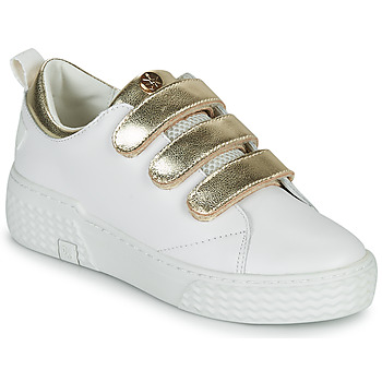 Shoes Women Low top trainers Palladium Manufacture EGO 02 LEA White