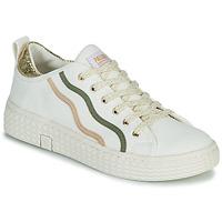 Shoes Women Low top trainers Palladium Manufacture TEMPO 02 CVSG White
