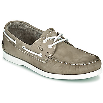 Shoes Men Boat shoes TBS PHENIS Grey / Clear