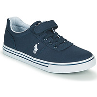 Shoes Boy Low top trainers Polo Ralph Lauren HANFORD II PS Marine