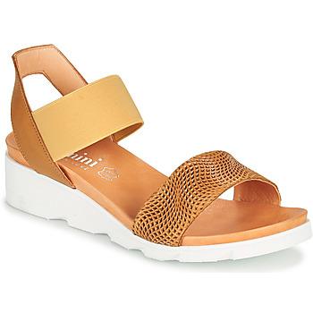 Shoes Women Sandals Felmini DARA Brown / Beige