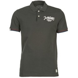 material Men short-sleeved polo shirts Jack & Jones COMPANY Black