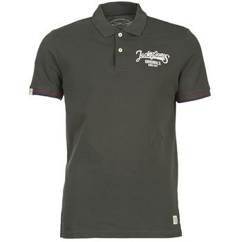 material Men short-sleeved polo shirts Jack & Jones COMPANY Black