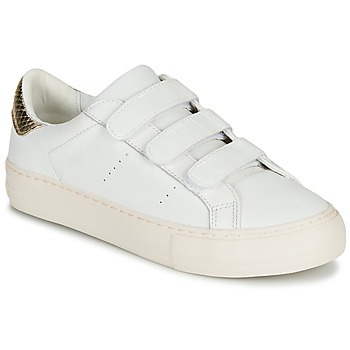 Shoes Women Low top trainers No Name ARCADE STRAPS White / Beige