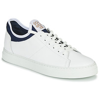 Shoes Men Low top trainers Schmoove SPARK NEO White / Blue