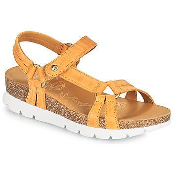 Shoes Women Sandals Panama Jack SALLY BASICS Yellow