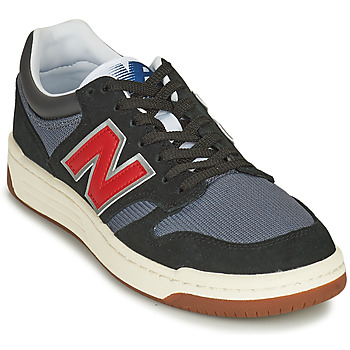 Shoes Men Low top trainers New Balance 480 Black / Red