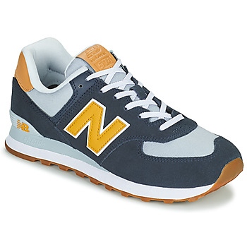 Shoes Men Low top trainers New Balance 574 Blue / Yellow