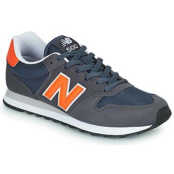 Shoes Men Low top trainers New Balance 500 Blue / Orange