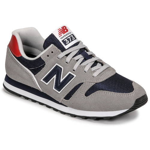 New Balance 373 Grey / Blue / Red - Free delivery   Spartoo NET ...