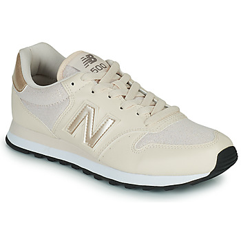Shoes Women Low top trainers New Balance 500 Beige / Gold