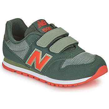 Shoes Boy Low top trainers New Balance 500 Kaki