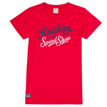material Boy short-sleeved t-shirts Redskins TS3030-RED Red