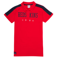 material Boy short-sleeved polo shirts Redskins PO180117-RED Red