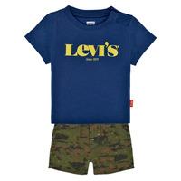 material Boy Sets & Outfits Levi's 6EC678-U29 Multicolour