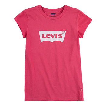 material Girl short-sleeved t-shirts Levi's BATWING TEE SS Pink