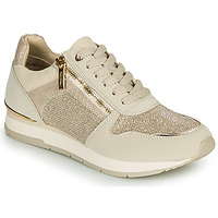 Shoes Women Low top trainers Tamaris DAKI Beige / Gold